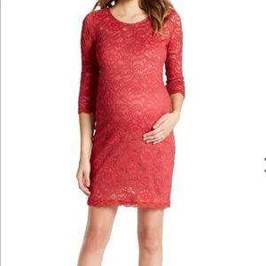 Jessica Simpson Maternity Lace Bodycon Dress